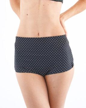 boomkats pole dance shorts polka dot 1