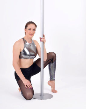 boomkats polewear leggings long black iridesc net 4