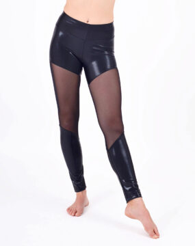 boomkats polewear leggings long black net 1