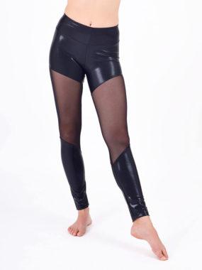 boomkats polewear long leggings black net 1
