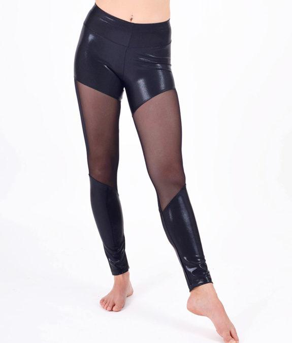 boomkats polewear leggings long black net 1