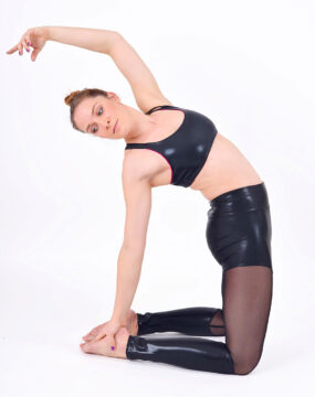 boomkats polewear leggings long black net 4