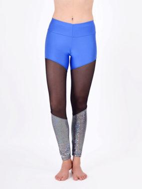 boomkats polewear long leggings blue net 1
