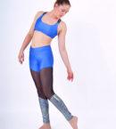 boomkats polewear leggings long blue net 4