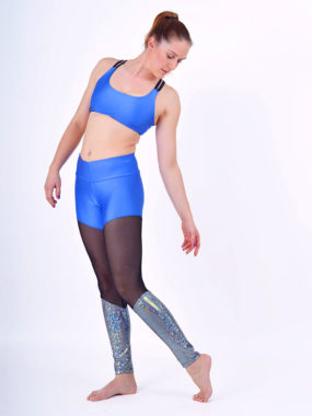 boomkats polewear long leggings blue net 4