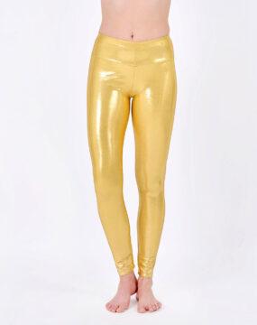 boomkats polewear leggings long golden 1