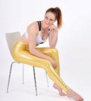 boomkats polewear leggings long golden 4