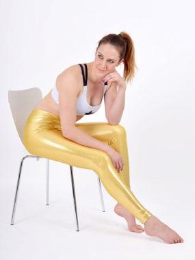 boomkats polewear long leggings golden 4