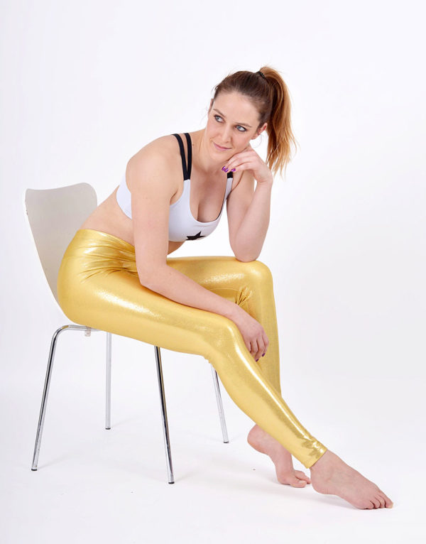 boomkats polewear long leggings golden 4