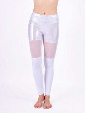 boomkats polewear long leggings white net 1