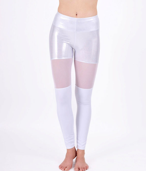 boomkats polewear leggings long white net 1