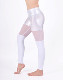 boomkats polewear leggings long white net 2