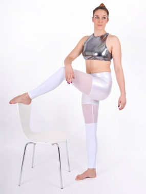 boomkats polewear long leggings white net 4