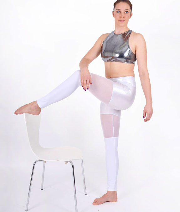boomkats polewear leggings long white net 4