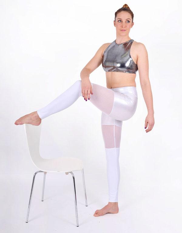 boomkats polewear long leggings white net 4