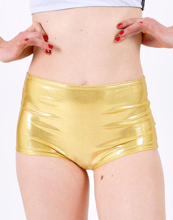 pole dance shorts boomkats clothes martini golden3