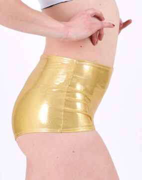 pole dance shorts boomkats clothes martini golden2