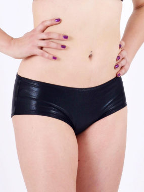 boomkats pole dance shorts jade black