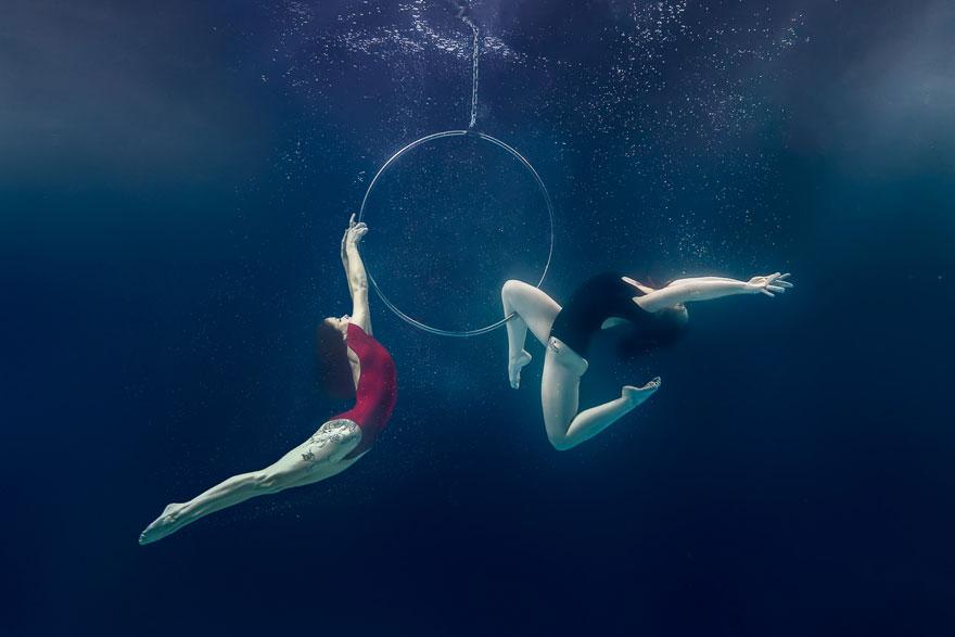 underwater pole dancing Brett Stanley photography boomkats polewear7