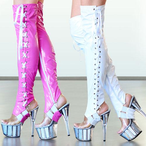 boomkats pole dance boot sleeves