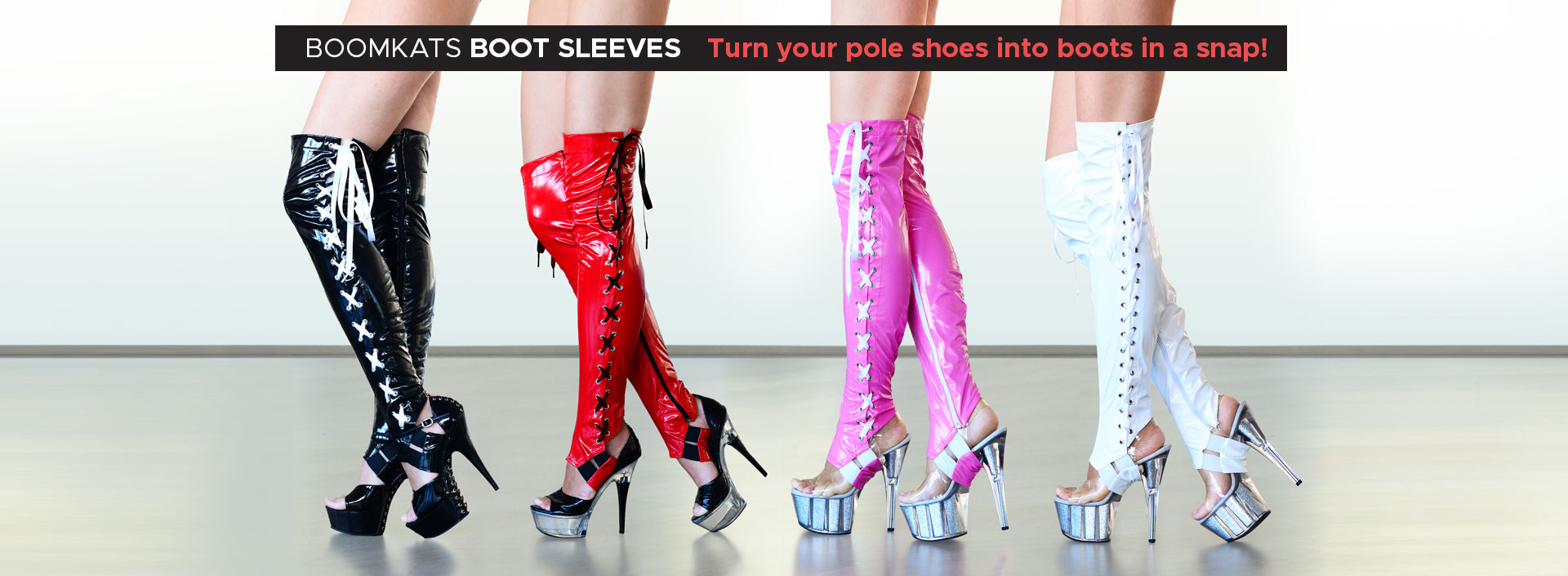 Boomkats poledance boot sleeves