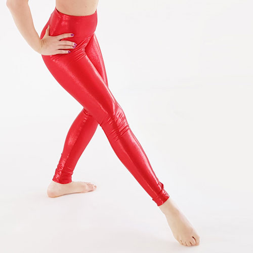 boomkats pole dance leggings red