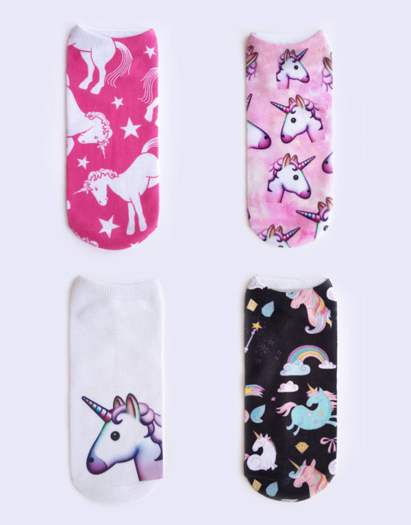 boomkats polewear apparel unicorn socks