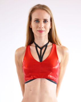 boomkats pole wear pole dance harness W 2