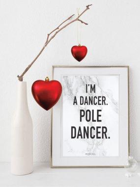 boomkats pole dance postcards goodies fav quote 1