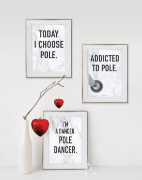 boomkats pole dance postcards goodies fav quote 2