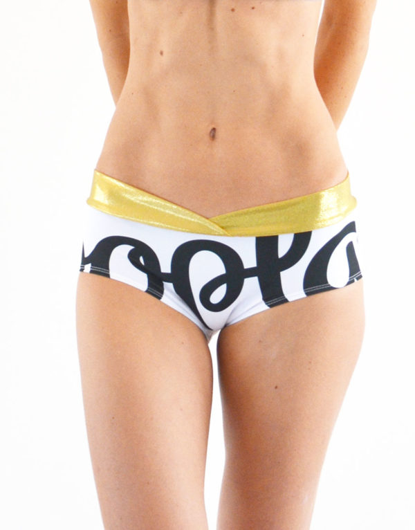 pole dance shorts boomkats clothes white oopla4