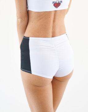 pole dance shorts boomkats clothes martini black line 2