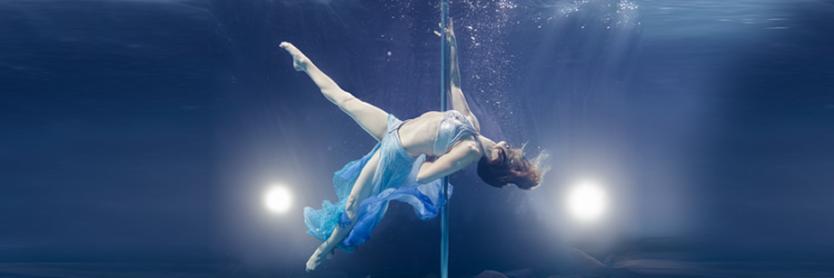 underwater pole dance