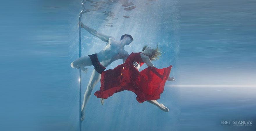 underwater pole dance 3