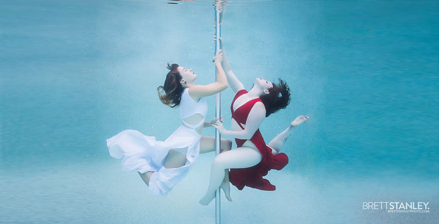 underwater pole dance 2