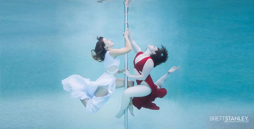 underwater pole dance 2