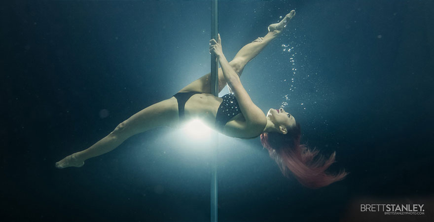 underwater pole dance 4