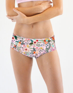 boomkats pole dance shorts jade flower