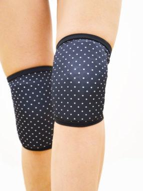 boomkats pole dance knee pads polka dot5