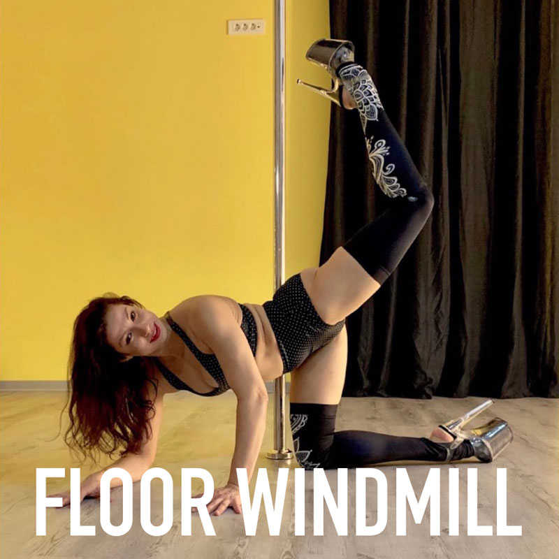 intermediate exotic pole dance tutorial