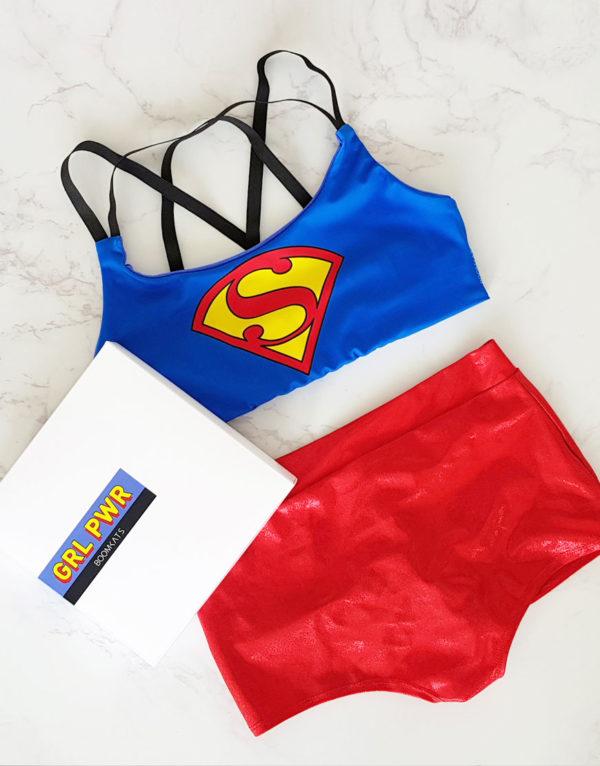 boomkats superman pole dance bundle box