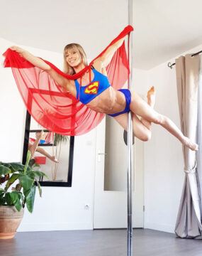 boomkats superman pole dance top cupid bundle box