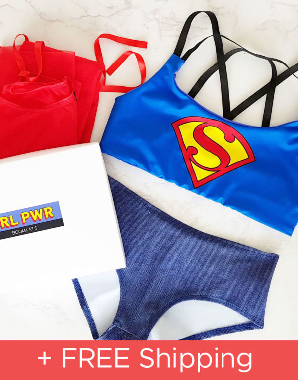 boomkats superman pole dance bundle box