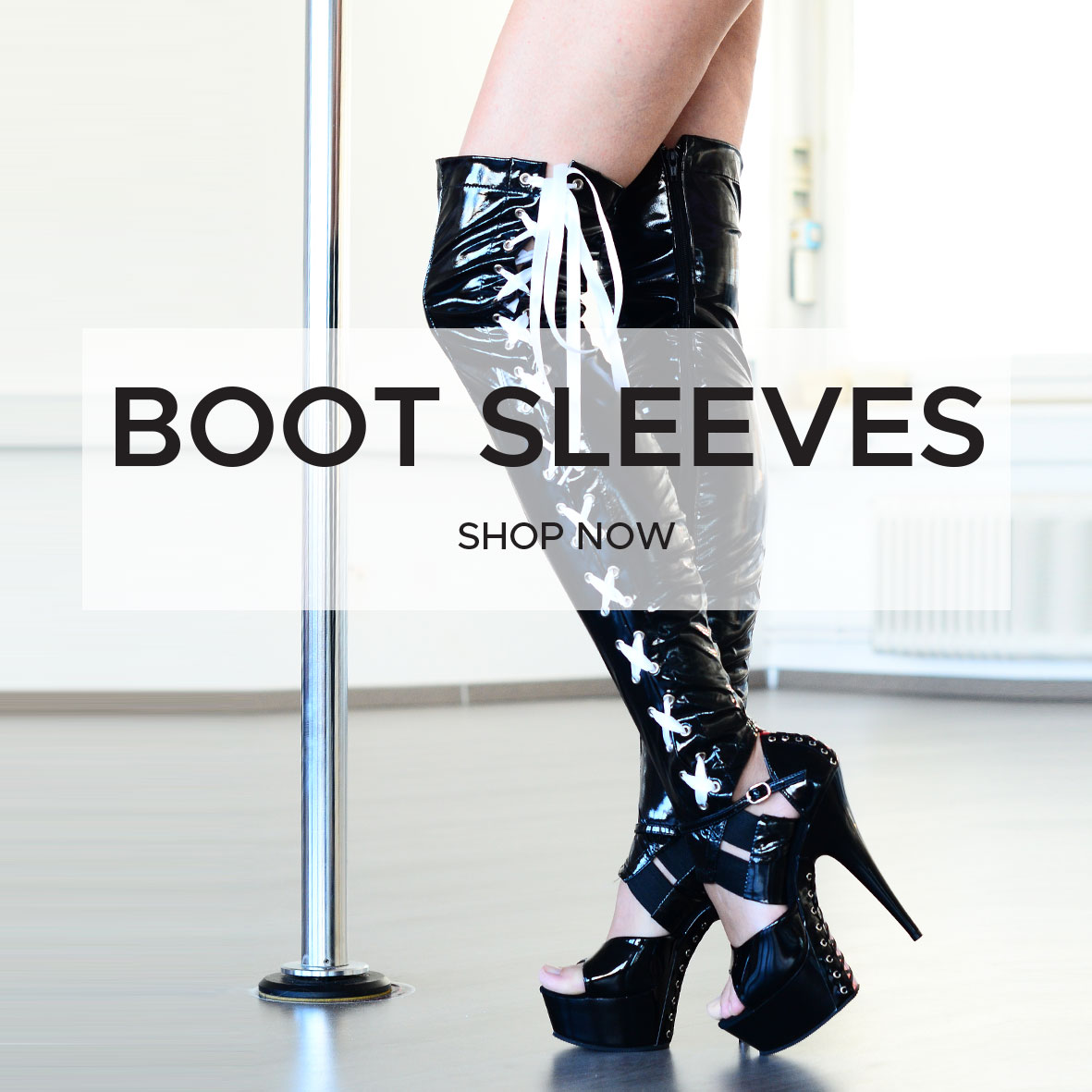 boomkats pole dance clothes boot sleeves