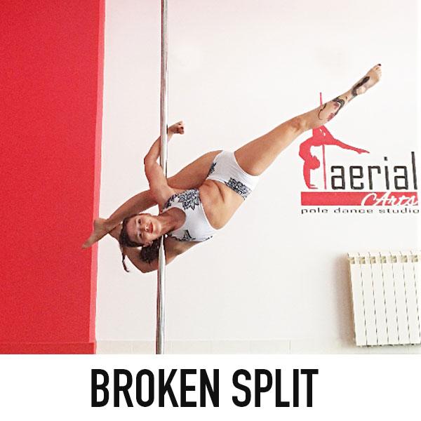 boomkats clothes pole dance splits 13