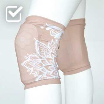 boomkats clothes exotic pole dance knee pads